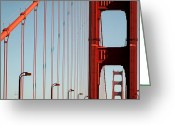 Bauwerk Greeting Cards - San Francisco Greeting Card by Aurica Voss