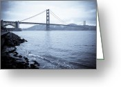 Must See Greeting Cards - San Francisco California landmarks Greeting Card by Mike DeCesare