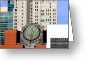 Mario Art Greeting Cards - San Francisco Museum of Modern Art SFMOMA 2 Greeting Card by Wingsdomain Art and Photography