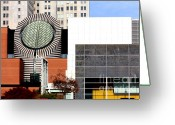 Mario Art Greeting Cards - San Francisco Museum of Modern Art SFMOMA 3 Greeting Card by Wingsdomain Art and Photography