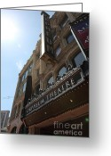 Musicals Greeting Cards - San Francisco Orpheum Theatre - 5D17985 Greeting Card by Wingsdomain Art and Photography