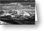 Isabel Greeting Cards - San Isabel Peaks Greeting Card by Kevin Munro