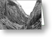 Ghost Photographs Greeting Cards - San Juan Mountains Greeting Card by Melany Sarafis