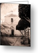 Quite Greeting Cards - San Luis Greeting Card by Pedro Cardona
