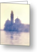 Backlight Greeting Cards - San Michele Greeting Card by Joana Kruse