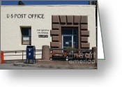 San Rafael Greeting Cards - San Quentin Post Office in California - 7D18549 Greeting Card by Wingsdomain Art and Photography