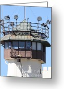 County Jail Greeting Cards - San Quentin State Prison in California - 7D18533 Greeting Card by Wingsdomain Art and Photography