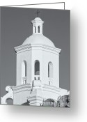 Santa Cruz Valley Greeting Cards - San Xavier del Bac Mission IV Greeting Card by Clarence Holmes
