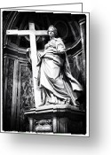 Vatican City Greeting Cards - Sancta Helena Greeting Card by John Rizzuto