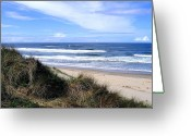 Sand And Sea Greeting Cards - Sand And Sea 12 Greeting Card by Will Borden