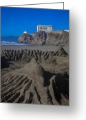 Pacific Greeting Cards - Sand dolphin Greeting Card by Garry Gay