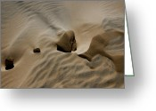 Kelso Greeting Cards - Sand Texture at Kelso Greeting Card by Chris Brannen