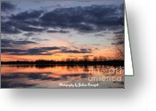 True Colors Greeting Cards - Sandbar Greeting Card by Joshua Fronczak