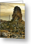 Village Greeting Cards - Sandcastles Greeting Card by Andrew Paranavitana