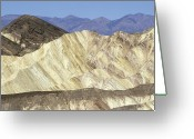Desolate Landscapes Greeting Cards - Sandstone Formations In Sunset Canyon Greeting Card by Rich Reid