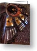 Staircase Greeting Cards - Santa Barbara Courthouse Greeting Card by Sean Foster