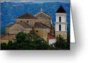 Quite Greeting Cards - Santa Fe Greeting Card by Blair Wainman