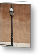 Street Greeting Cards - Santa Fe Still Life Greeting Card by Frank Romeo