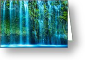 Peter Lik Greeting Cards - Sapphire - CraigBill.com - open edition Greeting Card by Craig Bill