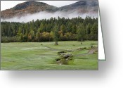 Golf Club Greeting Cards - Saranac Golf Club - Upstate New York Greeting Card by Brendan Reals