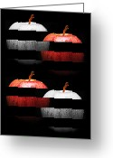 Dessert Digital Art Greeting Cards - Sassy Apple Slices Greeting Card by Andee Photography