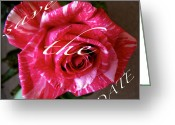 Formal Mixed Media Greeting Cards - Save The Date Cards Greeting Card by Debra     Vatalaro