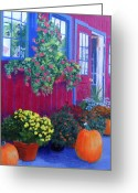 Upstate Ny Greeting Cards - Savickis Market Greeting Card by Lynne Reichhart