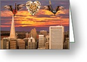 World Tour Greeting Cards - Saving All My Love For You Greeting Card by Eric Kempson