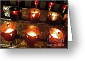 Churches Photo Greeting Cards - Say A Prayer Greeting Card by Elizabeth Hoskinson