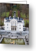 King Ludwig Greeting Cards - Schloss Linderhof Greeting Card by Andre Goncalves