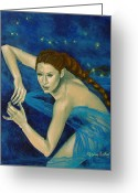 Zodiac Greeting Cards - Scorpio from Zodiac series Greeting Card by Dorina  Costras