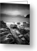 Nature Fine Art Greeting Cards - Scotland Elgol Greeting Card by Nina Papiorek