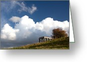 Steven Gray Greeting Cards - Scottish National Monument on Calton Hill Greeting Card by Steven Gray