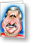 All Star Drawings Greeting Cards - Scotty Greeting Card by Big Mike Roate