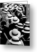 Day Greeting Cards - Sea of Hats Greeting Card by Sheila Smart