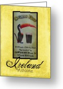 River Digital Art Greeting Cards - Seans Bar Guinness Pub Sign Athlone Ireland Greeting Card by Teresa Mucha
