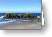 Awe Inspiring Greeting Cards - Seascape Supreme Greeting Card by Will Borden
