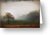 Long Island Greeting Cards - Season Of Mists Greeting Card by Evelina Kremsdorf