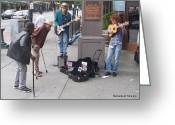 Glenn Mccurdy Greeting Cards - Seattle Concert Greeting Card by Glenn McCurdy