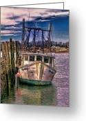 Digital Image Greeting Cards - Seaworthy II Greeting Card by Tom Prendergast