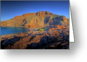 Peninsular Greeting Cards - Second Valley Fleurieu Peninsular South Australia Greeting Card by Mark Richards