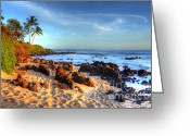 Beach Photograph Photo Greeting Cards - Secret Cove  Greeting Card by Kelly Wade