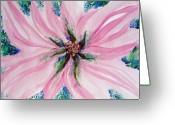 Spring Floods Greeting Cards - Secret Eye of Faith II Greeting Card by Sarah Hornsby
