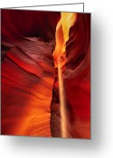 Desert Southwest Greeting Cards - Secret Slot Greeting Card by Joseph Rossbach