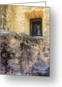 Santa Barbara Digital Art Greeting Cards - Secret Window Greeting Card by Methune Hively