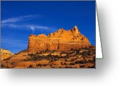Sedona Greeting Cards - Sedona Smoke Signals Greeting Card by Mike  Dawson