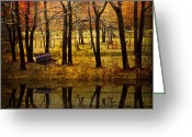 Creeks Greeting Cards - Seeing You Again Greeting Card by Debra and Dave Vanderlaan