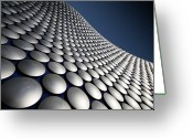 Birmingham Greeting Cards - Selfridges Exterior, Birmingham Greeting Card by Stewart Hardy