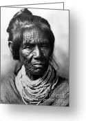 Indigenous American Greeting Cards - Seminole Indian Of The Florida Greeting Card by Photo Researchers