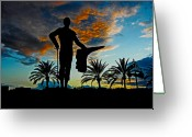 Torero Greeting Cards - Senor Pepe Luis Vazquez Greeting Card by Juergen Weiss